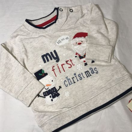 0-3 Month Christmas Jumper